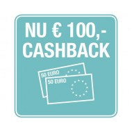 Bij aankoop van een GARDENA robotmaaier ontvangt u €100 Cashback t/m 31-12-2020